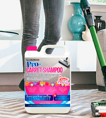 Review of Pro-Kleen Spring Bloom Pro+ Carpet Shampoo