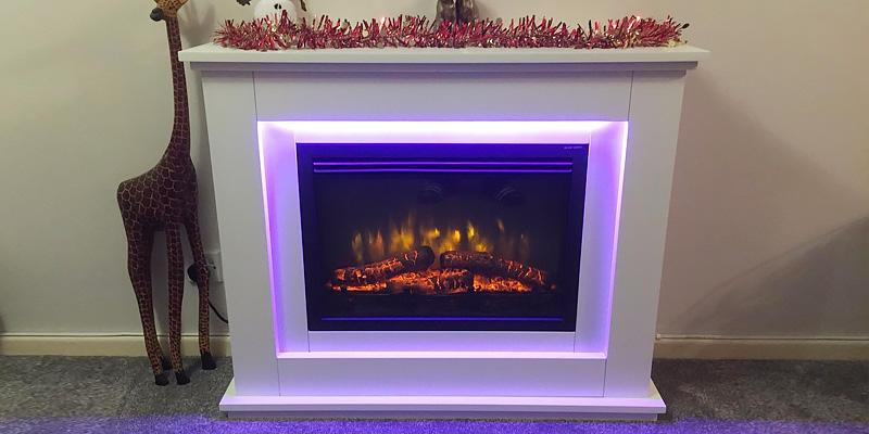 Detailed review of Endeavour Fires and Fireplaces Castleton Electric Fireplace Suite