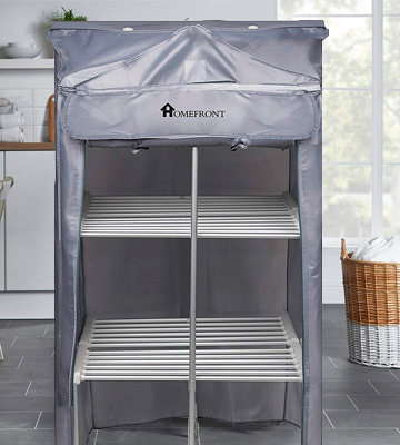 Review of HOMEFRONT Electric Heated Clothes Airer Deluxe EcoDry 3-Tier /Dryer Rack Indoor Drier
