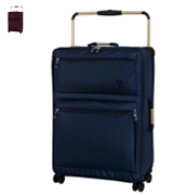 IT Luggage World's Lightest Four Wheel Spinner Suitcase (Medium)