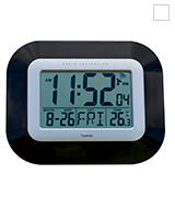 Youshiko YC8021 Radio Controlled LCD Wall Mountable and Desk Clock
