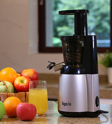 Review of Argus Le MEB4000S Slow Masticating Juicer, Silver