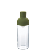 Hario Cold Brew Tea or Water Filter Bottle Olive Green