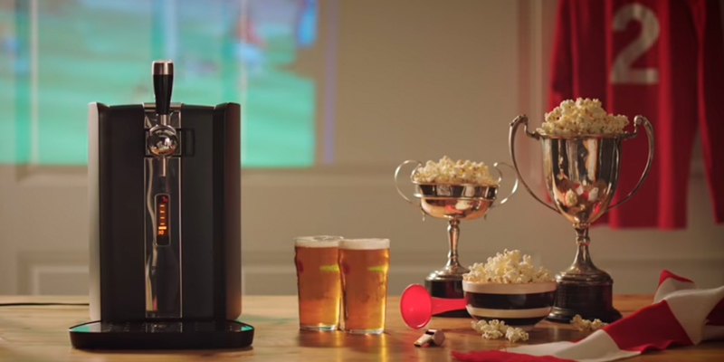 Review of Philips HD 3620/25 Perfect Draft beer dispenser