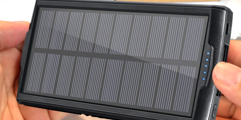 Review of VivoStar 20000MAH Solar Charger / Portable Power Bank