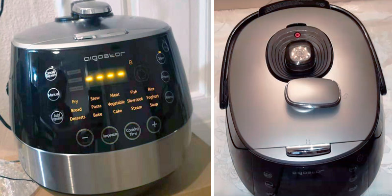 Review of Aigostar Happy Chef 7-in-1 30KHF Electric Multi Cooker