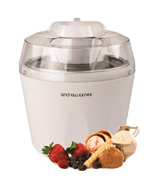 Andrew James AJ000014 Ice Cream Maker, 1.5 Litre