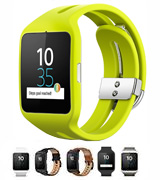 Sony Mobile SWR50 Smartwatch Compatible with Android 4.3+