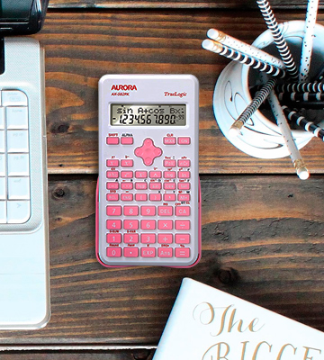 Review of Aurora AX-582PK Pink Scientific Calculator