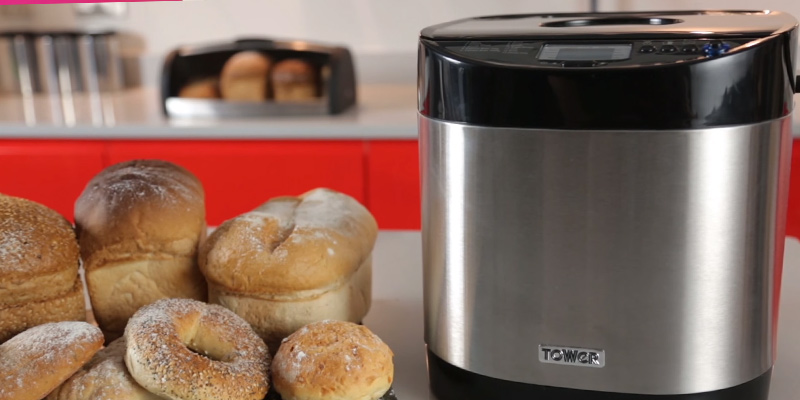Review of Tower T11001 Digital Bread Maker with Gluten Free Setting
