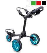 Stewart Golf R1S-BLK-BLU R1-s Push Trolley