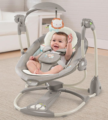 Review of Ingenuity 10216 2 Seat Candler Swing