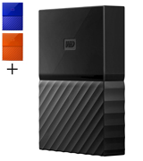 Western Digital My Passport 4 TB Portable Hard Drive