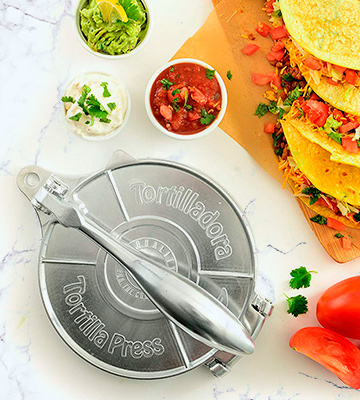 Review of Norpro 1068 Tortilla Press