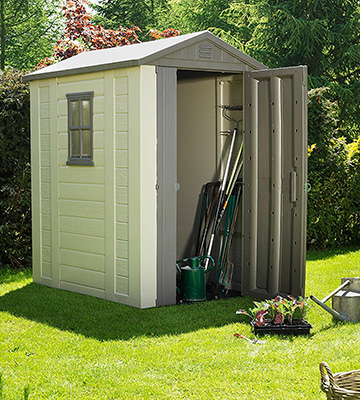 Review of Keter Factor 4x6 Outdoor Garden Storage Shed