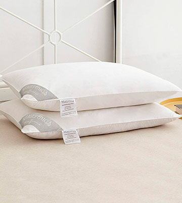 Review of HOMEFOUCS PAIR Goose Feather and Down Pillows