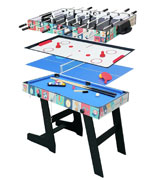 HLC 4 in 1 Multi Sports Game Table Combo