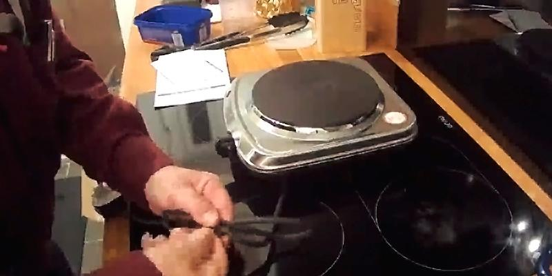 Lloytron E831ss Table Top Hob in the use