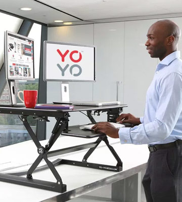 5 Best Standing Desks Reviews Of 2018 In The Uk