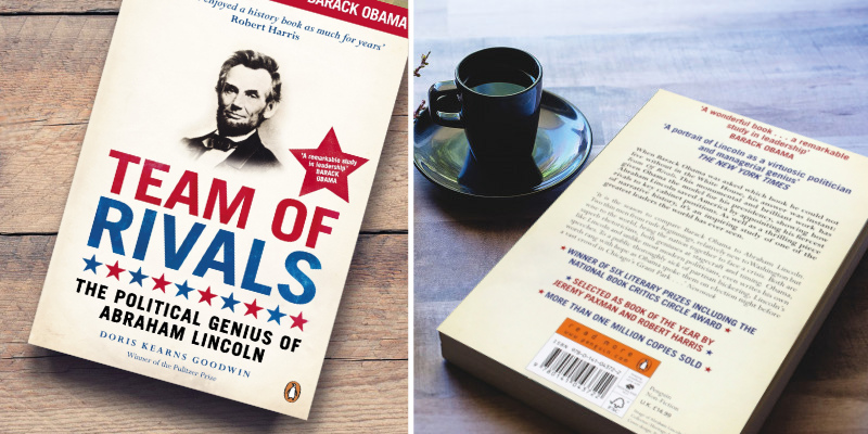 Doris Kearns Goodwin Team of Rivals The Political Genius of Abraham Lincoln Paperback in the use