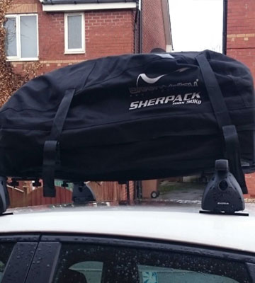Review of Green Valley Sherpack 158002 Folding Roof Box