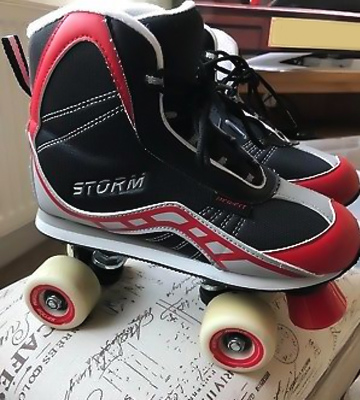 Review of California Pro Storm Unisex Quad Roller Skates