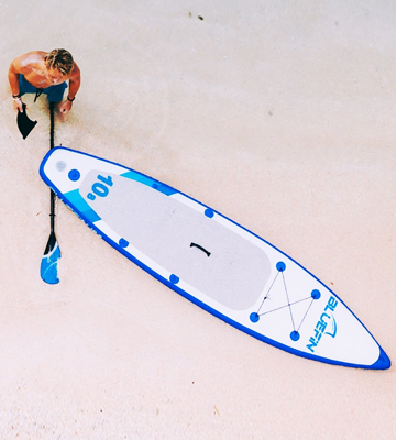 Review of Bluefin iSUP Stand Up Inflatable Paddle Board