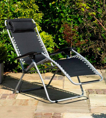 Review of Kingfisher FSGC Zero Gravity Reclining Sun Chair