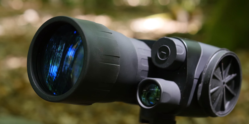Yukon NV Exelon 3x50 Night Vision Monocular in the use