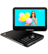 Apeman PV960 9.5 Portable DVD Player with Swivel Screen Built-in Rechargeable Battery