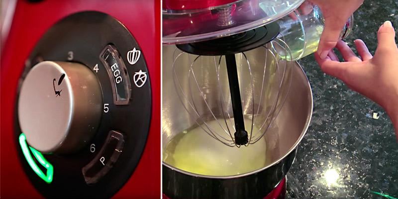 VonShef Powerful Stand Mixer in the use