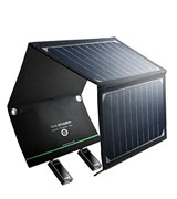 RAVPower UK RP-PC008 Solar Charger with Dual USB Port