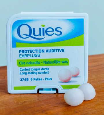 Review of Quies Natural Wax Earplugs
