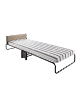 Jay-Be Revolution Folding Bed with Airflow Fibre Mattress with Powder Coat