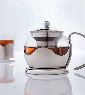 Review of Sabichi Silver Glass Teapot