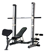 Tunturi 14TCS60400 Pure Compact Smith Machine and Weight Bench