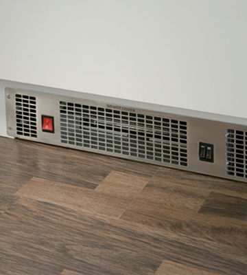 Review of CDA APH01SS 2kW Electric Kitchen Plinth Space Heater