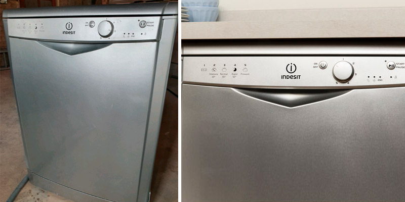 Review of Indesit DFG15B1S Slimline Dishwasher