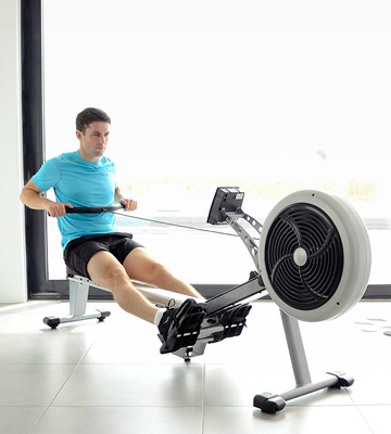Review of JTX Fitness Foldable Air Rower Foldable Superior Rowing Machine
