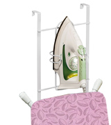 Artmoon 699645 Over Door Iron and Ironing Board Holder