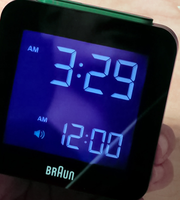Review of Braun (BNC008BK) Digital Travel Alarm Clock