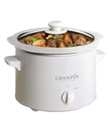 Crock-Pot SCCPQK5025W-060 Slow Cooker, 2.4L, White