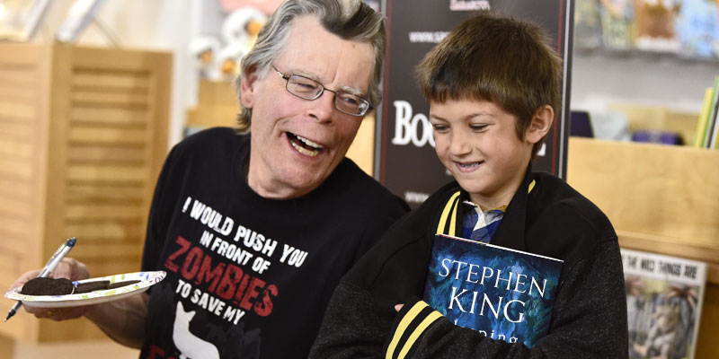 "Stephen King ""Sleeping Beauty"" in the use"