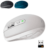 Logitech MX Anywhere 2S Wireless Mobile Mouse with Cross-Computer Control for Mac and Windows