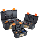 VonHaus 15/009 Portable Tool Box Storage Set