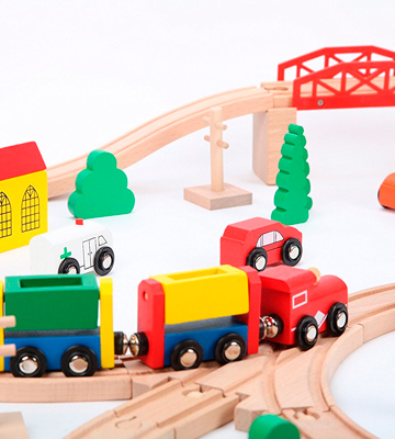 Review of Point-kids 100-Piece Railway