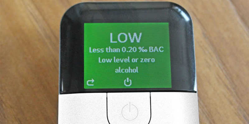 Review of AlcoSense Excel Fuel Cell Breathalyzer Alcohol Tester Breathalyser