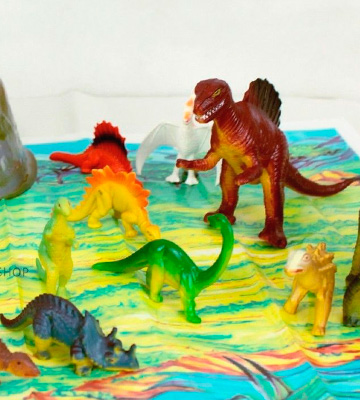 Review of KandyToys Prehistoric Dinosaur Models Set