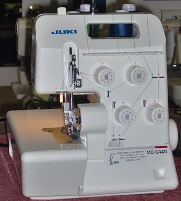 Review of JUKI MO644D Portable Serger