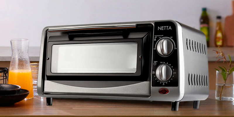 Review of NETTA 9L Electric Mini Oven Black with 30 Minute Timer
